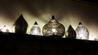 Iron Cutwork Lamps
